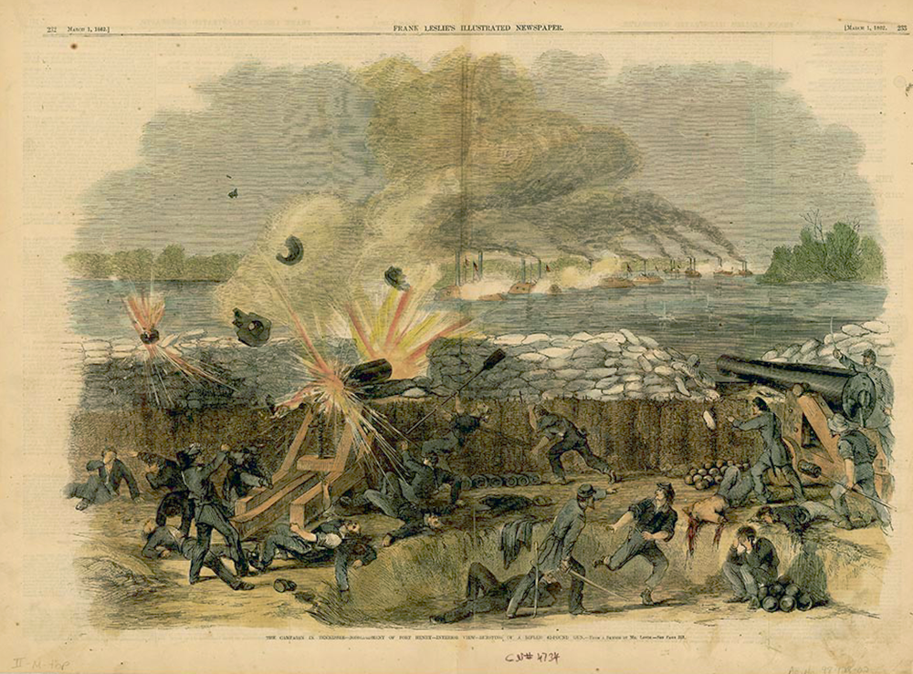 Bombardment of Fort Henry in Stewart County