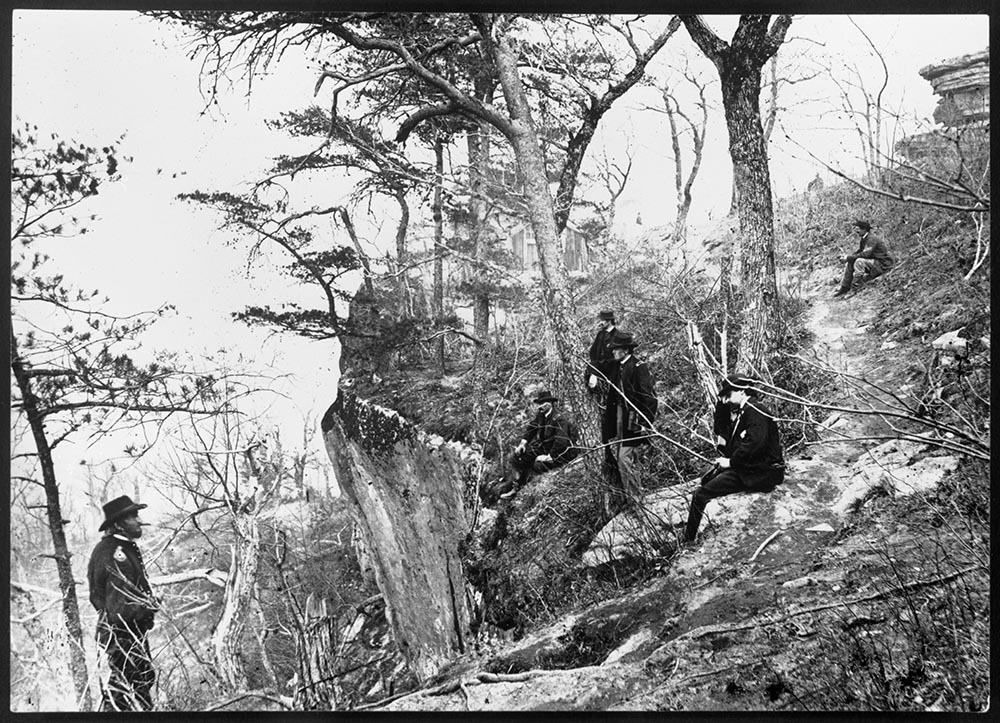 General Ulysses S. Grant on Lookout Mountain in 1863