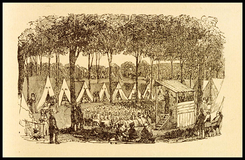 A Methodist Camp Meeting