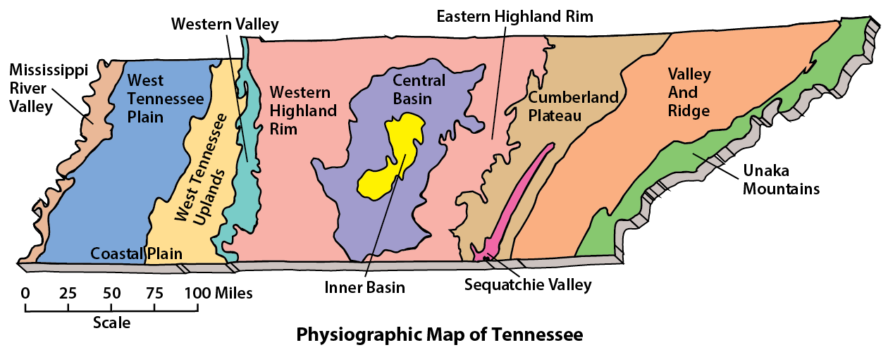 The Land and Native People | A History of Tennessee Student